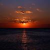 """March 23, 2011<br /> """"Sunset Glow"""" - Lake Michigan sunset."""